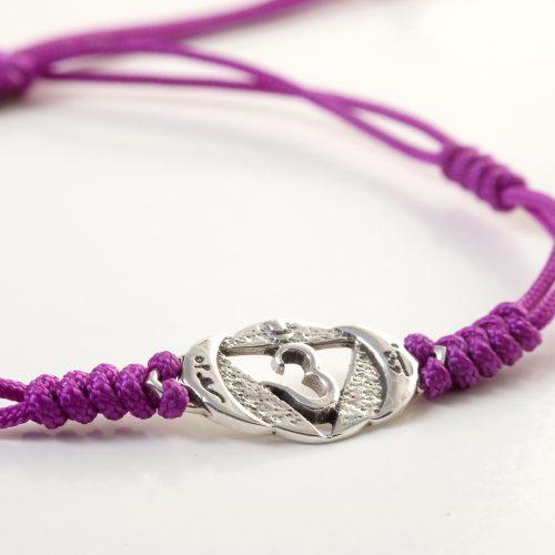 Chakra Armband   mit Stirn Chakra   aus Sterling Silber   Yoga Schmuck