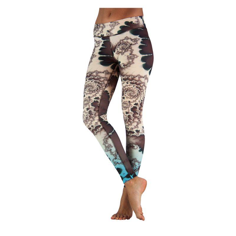 Yoga Leggings | Yoga Hose | Yoga Pants | Leggings | Yogahose | Fitness Leggings | von Niyama | Emerald Spring