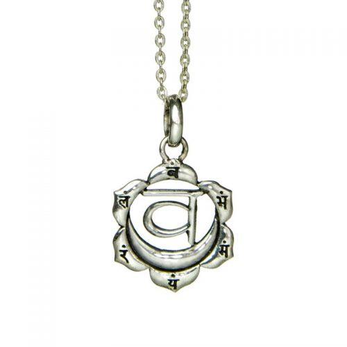 Silber Anhänger Sakral Chakra | Silber Anhänger | Chakra Schmuck | Silber Anhänger kaufen | Yoga Schmuck