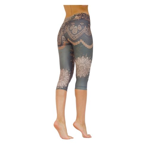 Yoga Pants | Yoga Hose | Capri Leggings | von Niyama | Dancing Beauty | Yogahose | Leggings | Fitness Legging