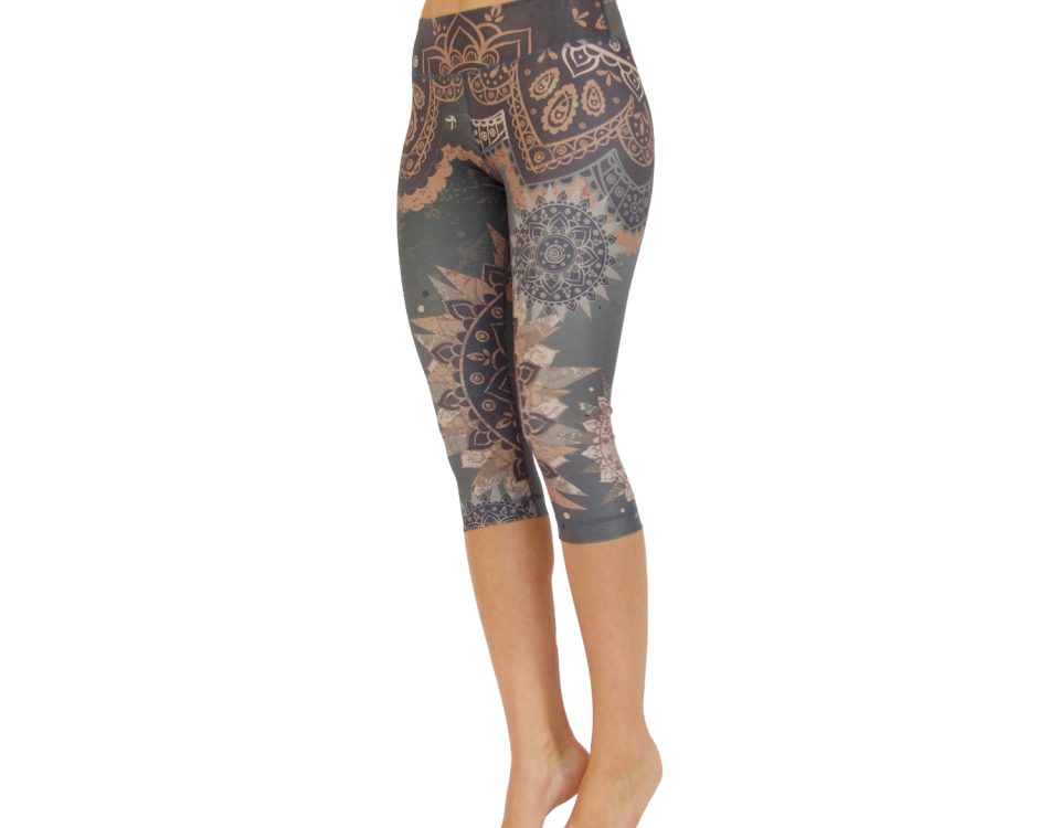 Yoga Pants   Yoga Hose   Capri Leggings   von Niyama   Dancing Beauty   Yogahose   Leggings   Fitness Legging