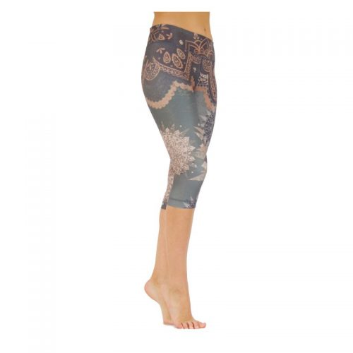 Yoga Pants | Yoga Hose | Capri Leggings | von Niyama | Dancing Beauty | Yogahose | Leggings | Fitness Legging