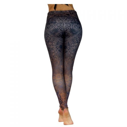 Yoga Leggings | Yoga Hose | Yoga Pants | Leggings | Yogahose | Fitness Leggings | von Niyama | Black Rose