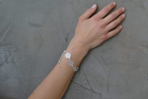 Armband | Blume des Lebens | Silber 925er Sterlingsilber