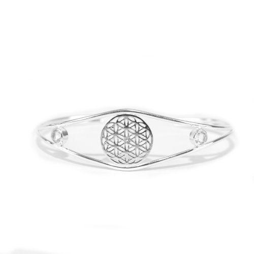 Armreif | Blume des Lebens | Silber | 925er Sterlingsilber