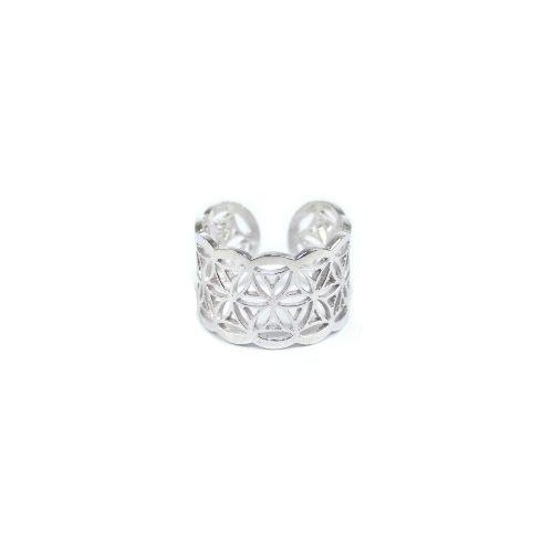 Fingerring Blume des Lebens Silber | Blume des Lebens Ring | Fingerring kaufen