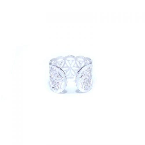 Fingerring Blume des Lebens Silber | Fingerring | Ring Blume des Lebens | Fingerring kaufen
