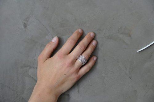 Fingerring Blume des Lebens Silber | Fingerring kaufen | Silberring | Ring Blume des Lebens