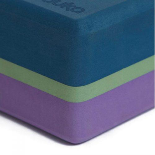 Manduka Recycled Foam Block 2 Tone-Maldive