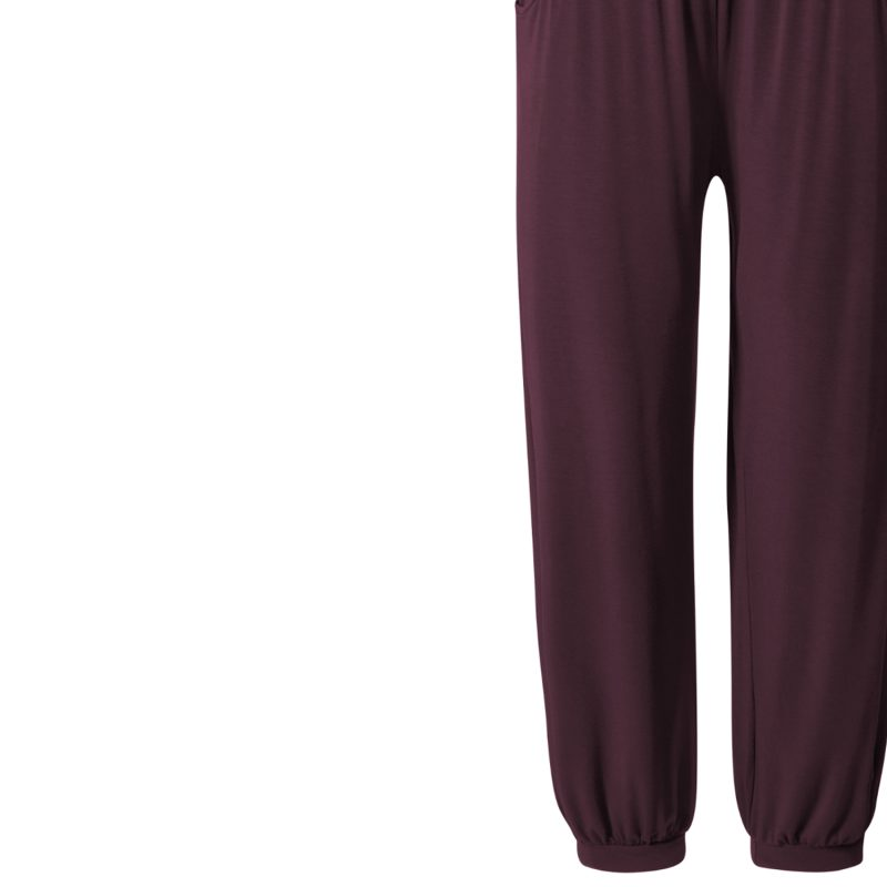 Yogahose - Relaxed Long Pants von Curare - kastanie | YOGA STILVOLL