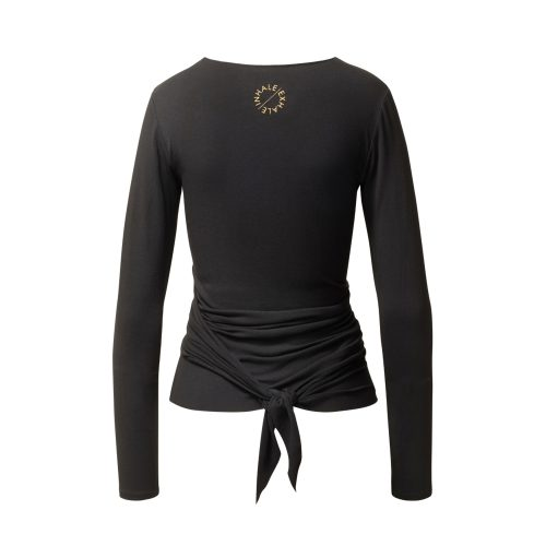 Yoga Jacke – Wrap Jacket von Curare black GOLD EDITION