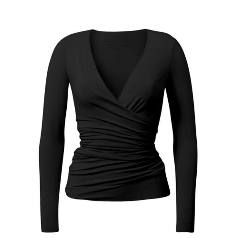 Yoga Jacke   Warp Jacket   von Curare   black