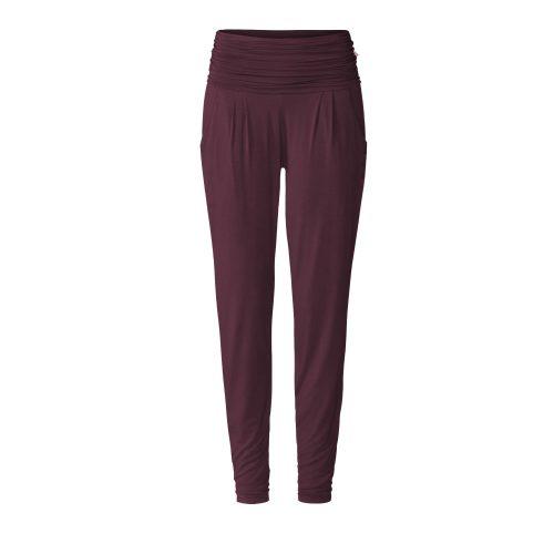 Yogahose | Long Loose Pants von Curare | kastanie