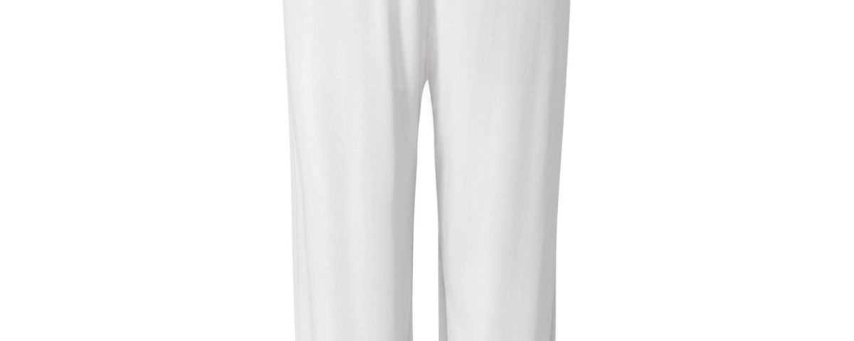 Yogahose | Relaxed Long Pants von Curare | white