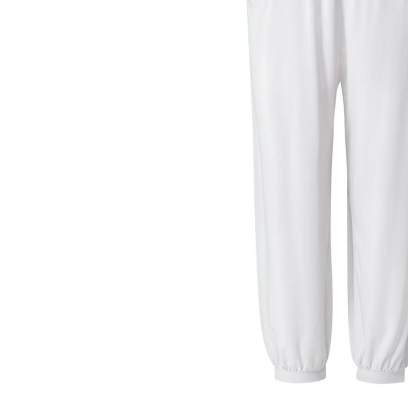 Yogahose - Relaxed Long Pants von Curare - white | YOGA STILVOLL