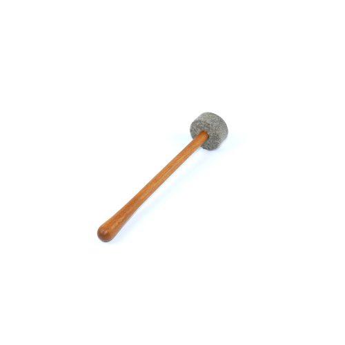 Klangschalen Klöppel Holz-Filz | Hart | Größe: S