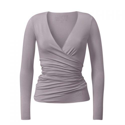 Yoga Jacke | Wrap Jacket von Curare | puder