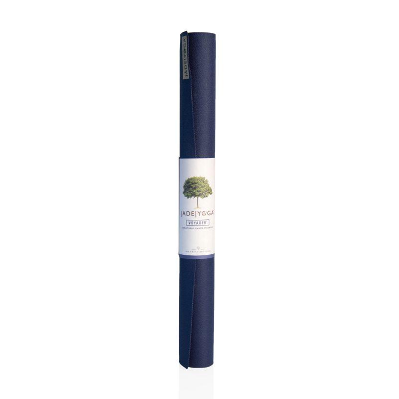 Yogamatte Jade Voyager Midnight Blue | Yoga Reisematte | Yogamatte | Yogamatte kaufen | Yogamatte Natur | Yogamatte faltbar
