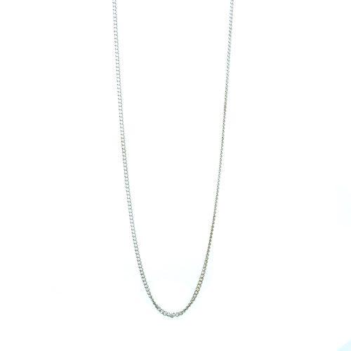 Halskette - Fuchsschwanzkette aus Sterling Silber | Halskette Silber | Silberkette kaufen | Halskette Silber kaufen | Fuchsschwanzkette Silber kaufen