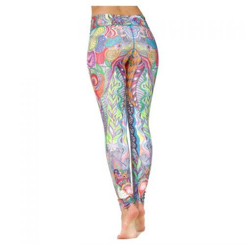 Yoga Leggings   Yoga Hose   Yoga Pants   Leggings   Yogahose   Fitness Leggings   von Niyama   Hakuna Matata