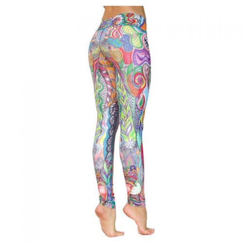 Yoga Leggings | Yoga Hose | Yoga Pants | Leggings | Yogahose | Fitness Leggings | von Niyama | Hakuna Matata