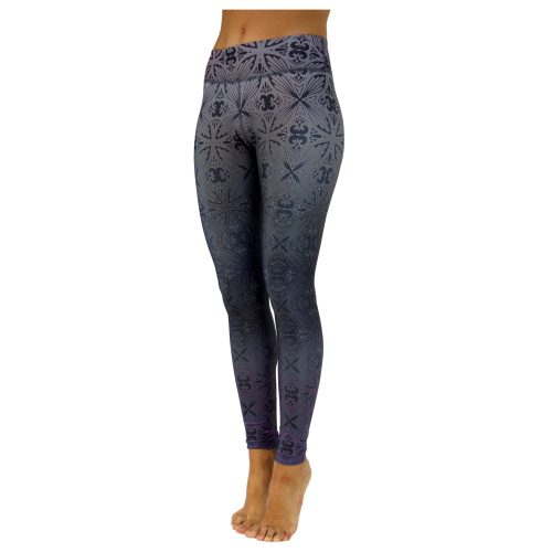 Yoga Leggings | Yoga Hose | Yoga Pants | Leggings | Yogahose | Fitness Leggings | von Niyama | Tahitian Nights