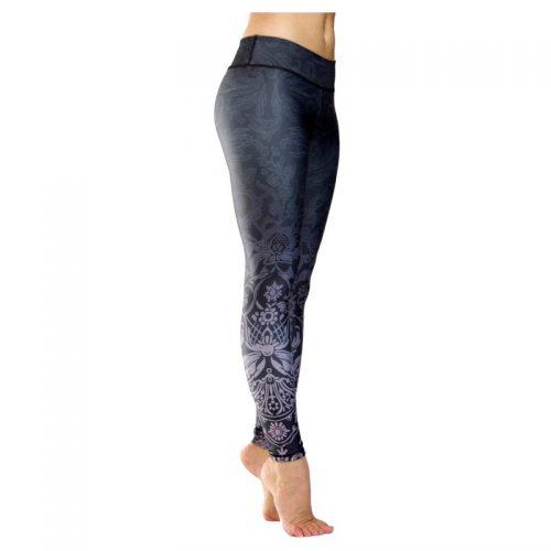 Yoga Leggings | Yoga Hose | Yoga Pants | Leggings | Yogahose | Fitness Leggings | von Niyama | Midnight Kiss