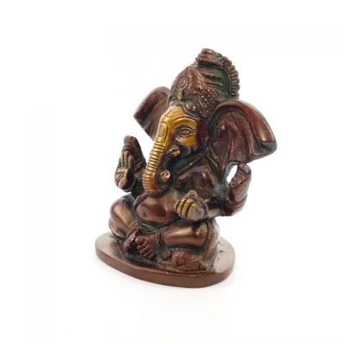 Ganesha Figur | Messing | Größe 10 cm | Ganesha kaufen | Ganesha Statue | Ganesh Statue