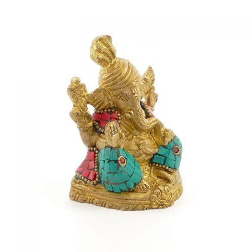 Ganesha Figur | Messing | Größe 8 cm | Ganesha Figur | Ganesh Statue | Ganescha kaufen