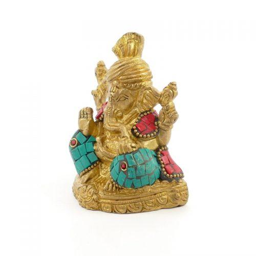 Ganesha Figur | Messing | Größe 8 cm | Ganesha Figur kaufen | Ganesha Figur | Ganesh Statue
