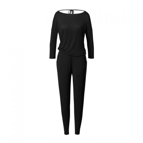 Jumpsuit von Curare - black | Yoga Kleidung Damen | Yogabekleidung | Yoga Overall | Yoga Kleidung | Yoga Stilvoll