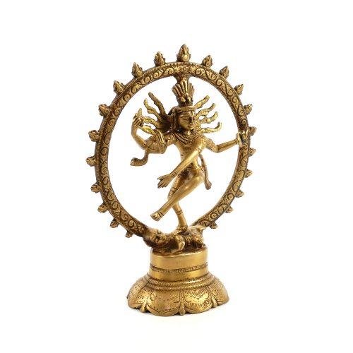 Shiva Statue | Messing | Größe 20 cm