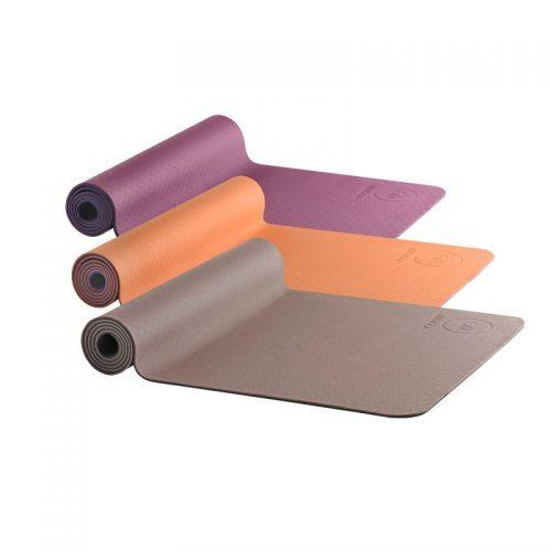 Yogamatte AKO Yin Yang Earth Matte | Yogamatte mit OM | Yogamatte kaufen | rutschfeste Yogamatte | Yogamatte TPE