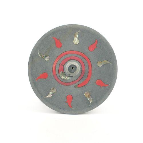 Räucherstäbchenhalter - Kundalinifeuer 10 cm