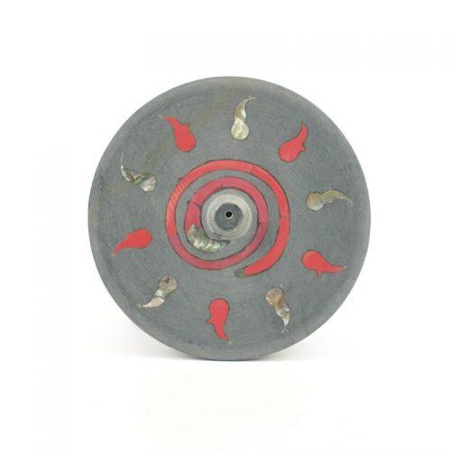 Räucherstäbchenhalter - Kundalinifeuer 10 cm | Halter für Räucherstöbchen | Räucherzubehör | Räucherstäbchenhalter
