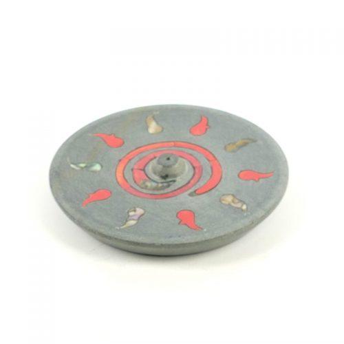 Räucherstäbchenhalter - Kundalinifeuer 10 cm | Räucherstäbchenhalter kaufen | Räucherzubehör