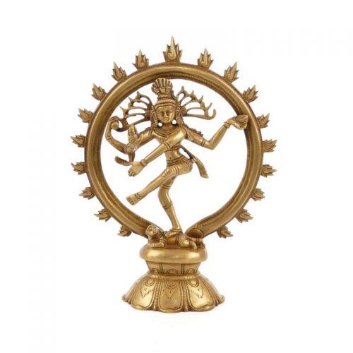 Shiva Statue Größe 24 cm | Shiva Statue kaufen | Yoga Stilvoll | Shiva Statue | Shiva Figur