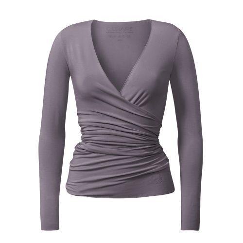 Yoga Jacke – Wrap Jacket von Curare-new stone