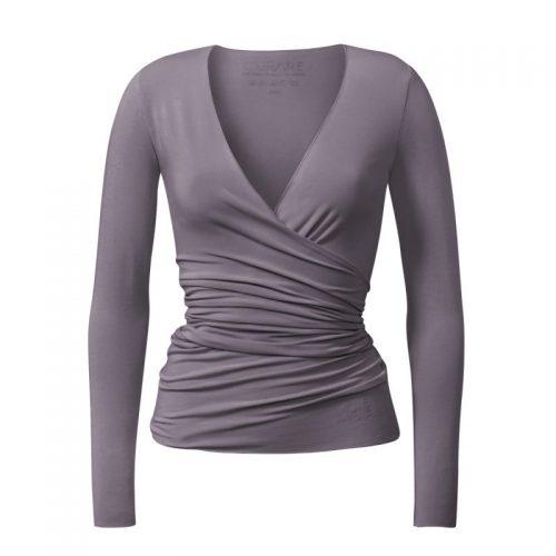 Yoga Jacke – Wrap Jacket von Curare-new stone | Yogabekleidung | Yoga Kleidung Damen | Yoga Jacke | Wickeljacke