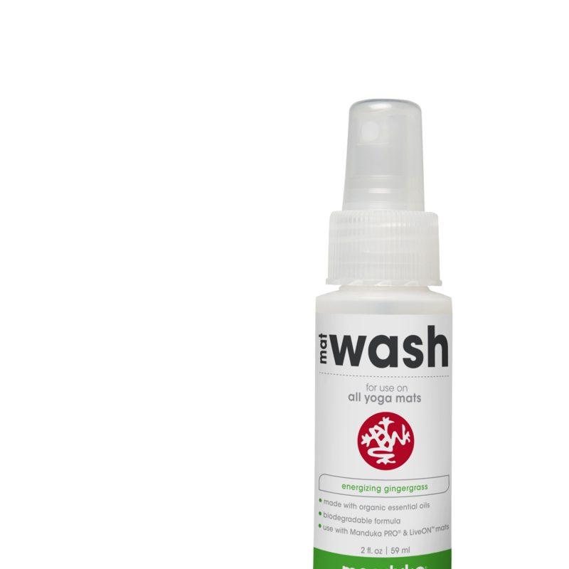 Manduka Mat Wash Gingergrass 59 Ml Travel Spray Yoga