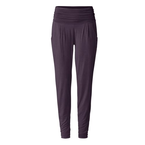Yogahose Long Loose Pants von Curare-dark-aubergine