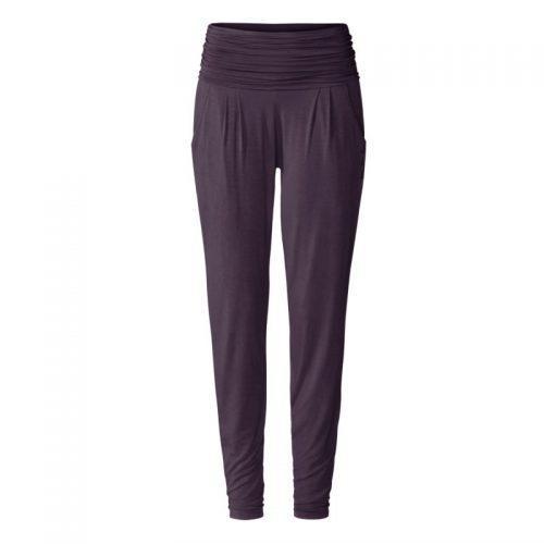 Yogahose Long Loose Pants von Curare-dark-aubergine | Yoga Pants | Yogahose | Yogahose Damen | Yoga Hose