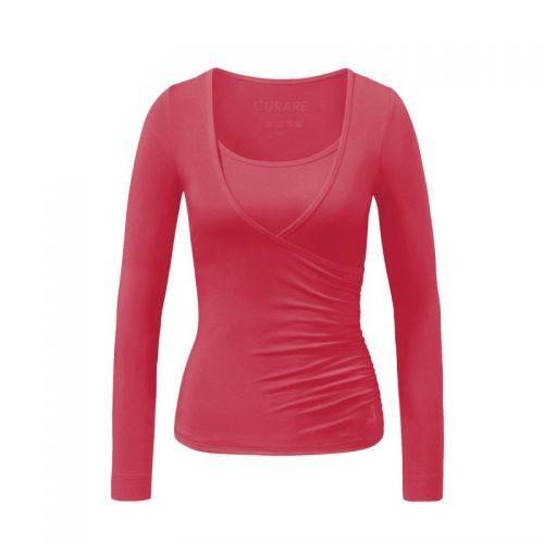 Warp Shirt von Curare-himmbeere | Yoga T-Shirt | Yoga Shirt | Yoga Shirt kaufen
