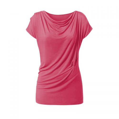 Yoga Shirt Wasserfall von Curare-himbeere | Yoga Shirt kaufen | Yoga T-Shirt | Yogakleidung