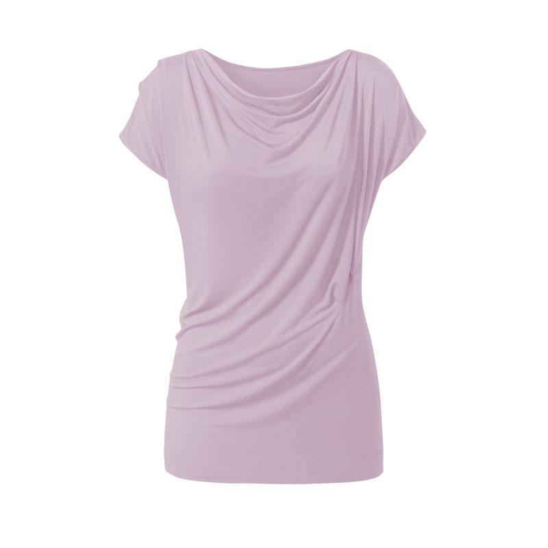 Yoga Shirt - Wasserfall von Curare - rose   YOGA STILVOLL