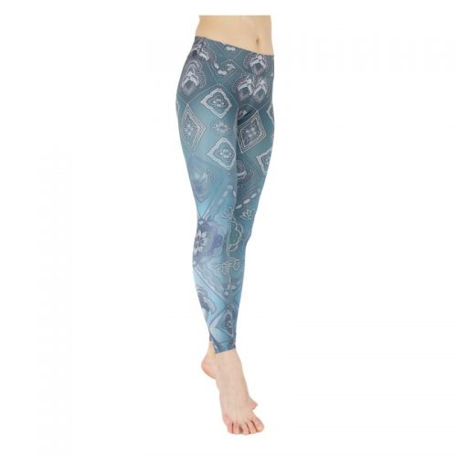 Yoga Leggings von Niyama Caleidoscope front right