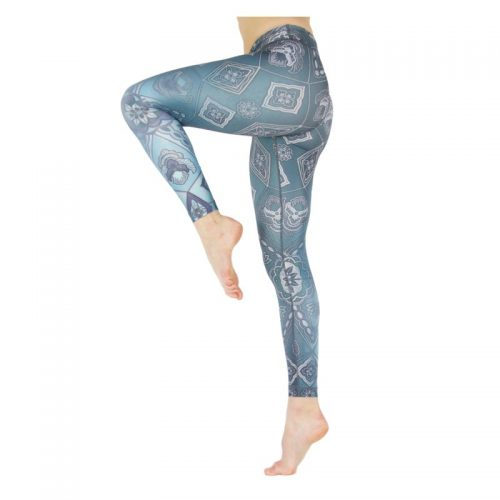 Yoga Leggings von Niyama Caleidoscope | Yoga Pants | Yoga Hose | Leggings | Yogahose