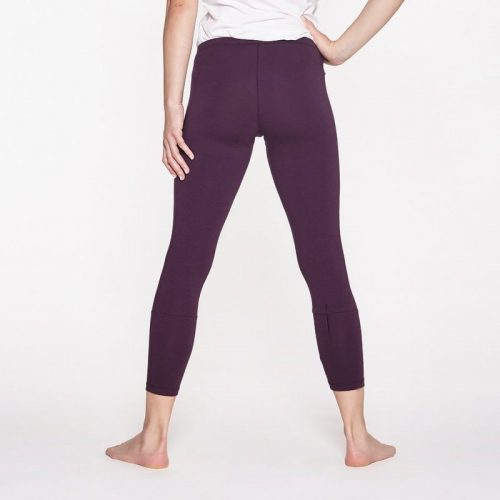 Yoga Leggings von Yoiqi 7/ 8 BURGUNDY | Yoga Hose | Yogahose | Leggings | Yoga Pants
