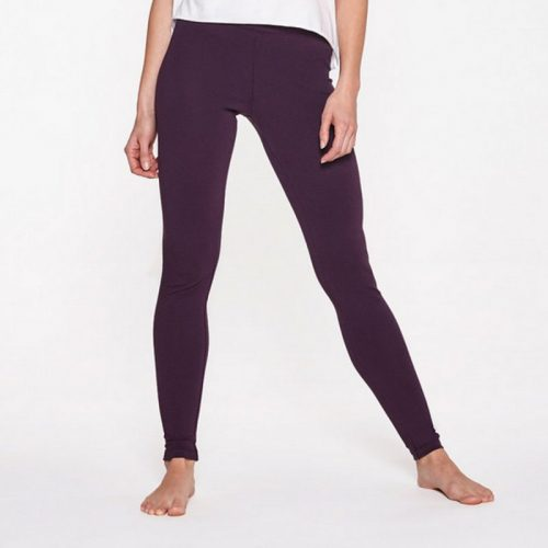 Yoga Leggings von Yoiqi Plain BURGUNDY | Yoga Hose | Yogahose | Leggings | Yoga Pants