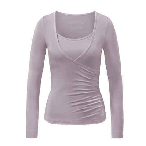 Warp Shirt von Curare-puder | Yoga Kleidung | Curare | Yoga Shirt | Yogabekleidung | Yoga Shirt Damen